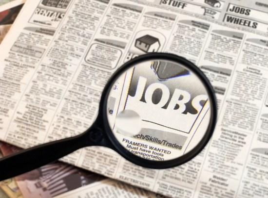 Las ofertas de empleo en prensa