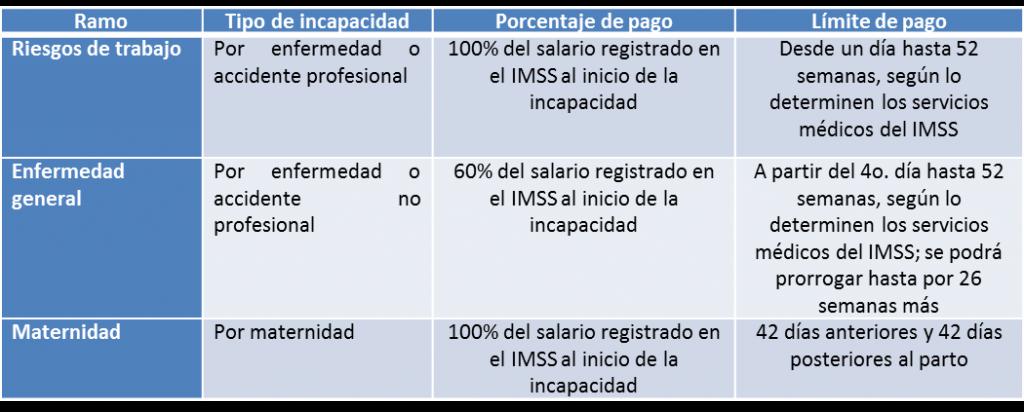 subsidios del imss