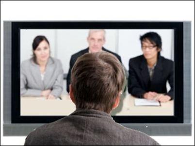 Una entrevista de trabajo online
